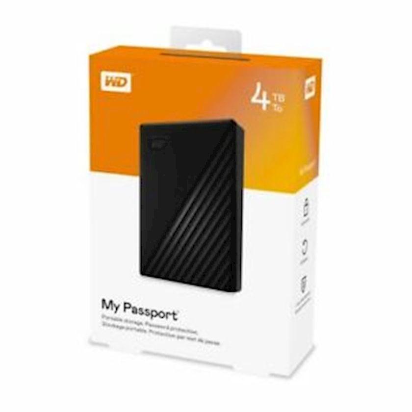 Xarici sərt disk WD My Passport 4 TB 2.5 Black