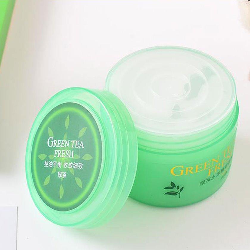Üz üçün gecə maskası Ximivogue Green Tea Sleep Facial Mask 200 ml