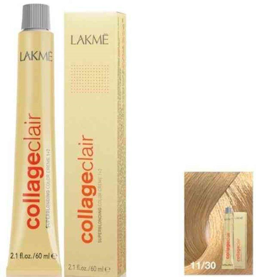 Saç krem-boyası Lakme Collage Clair 11/30 Super rəng açıcı qızılı