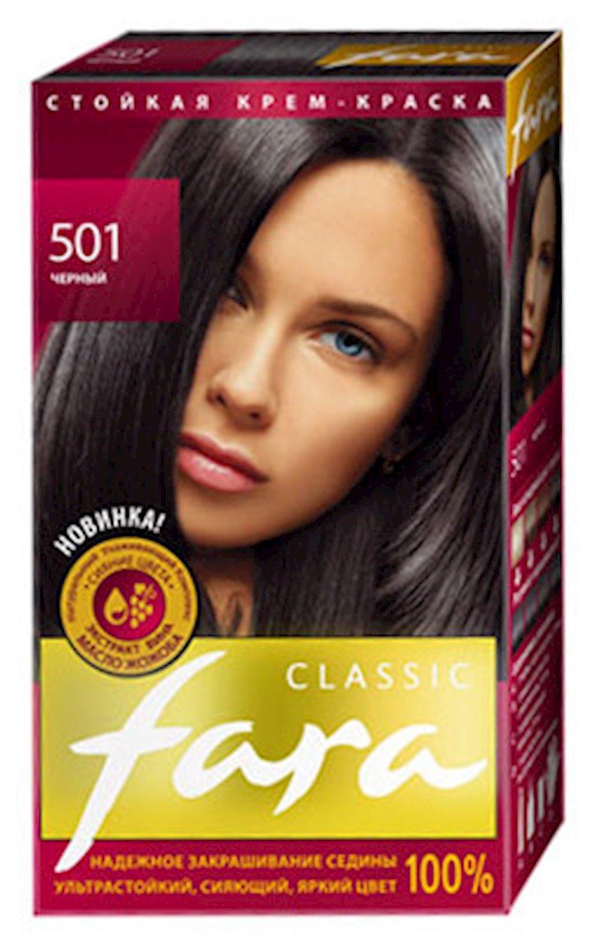 Saç boyası Fara Classic 501 Qara