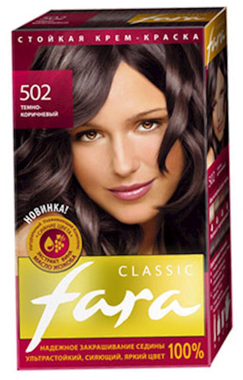 Saç boyası Fara Classic 502 Tünd qəhvəyi