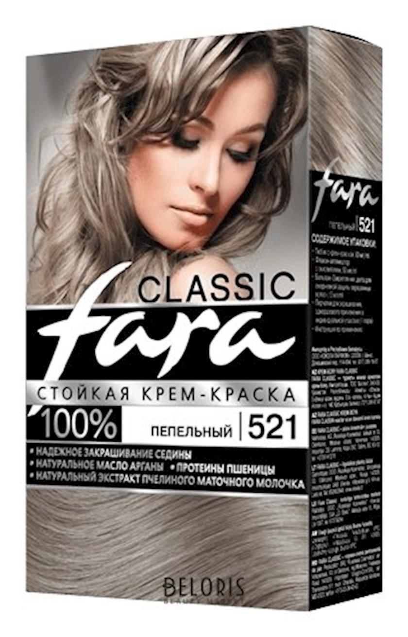 Saç boyası Fara Classic 521 Kül