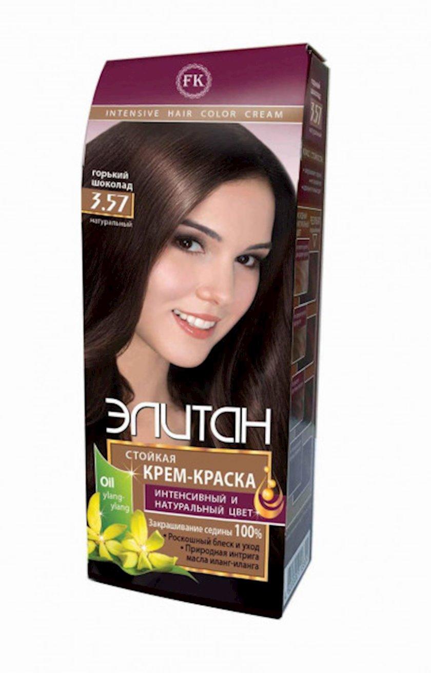 Saç krem-boyası Элитан 3.57 Acı şokolad 100 ml