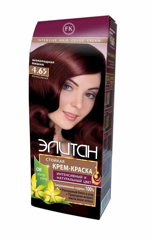 Saç boyası Элитан Intensiv 4.65 Şokoladlı albalı