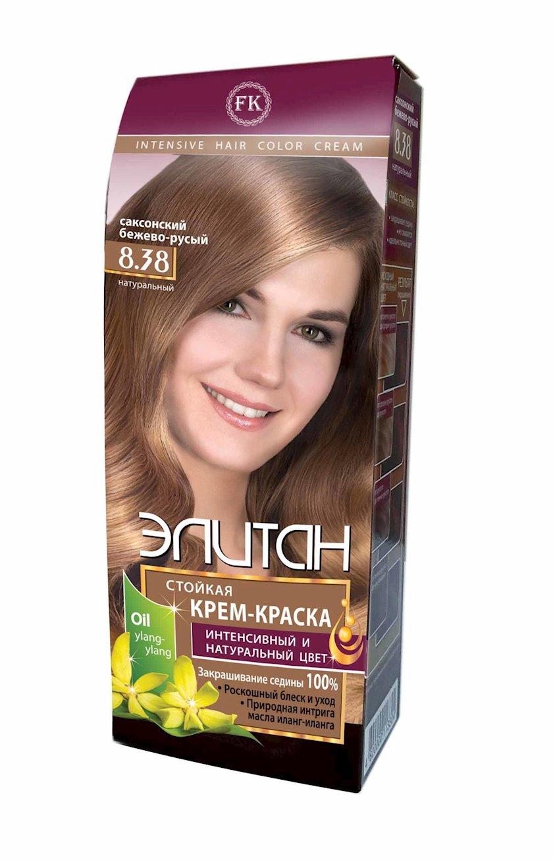 Saç boyası Элитан Intensiv 8.38 Sakson bej sarışın