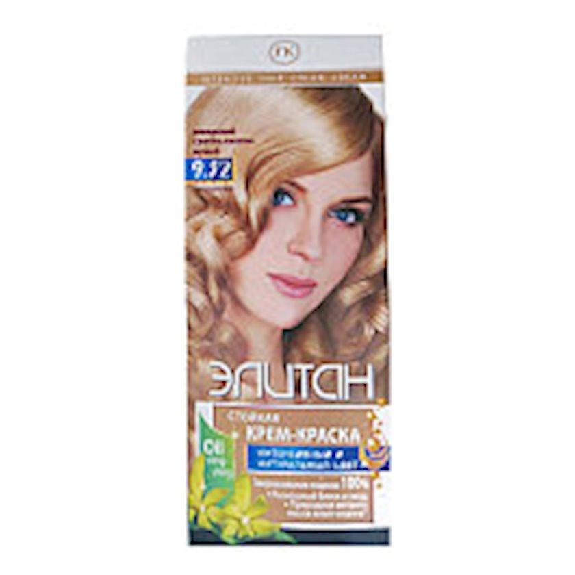 Saç boyası Элитан İntensiv 9.32 İsveç çox açıq xurmayı