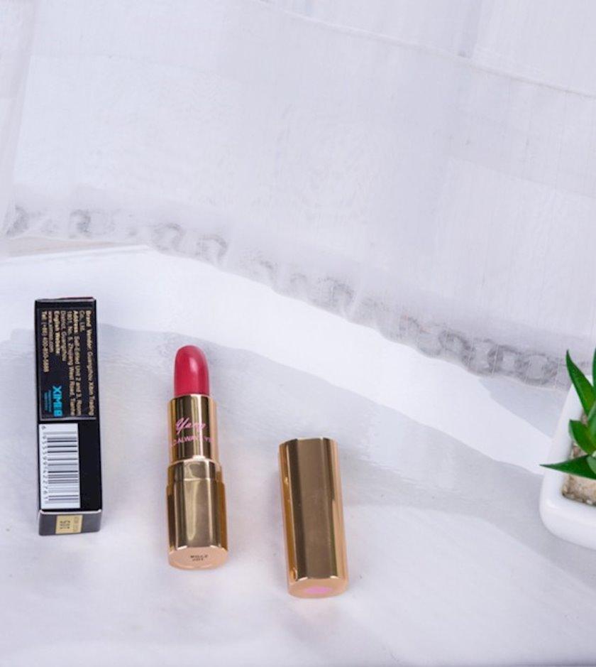 Pomada dodaq üçün Ximivogue Dazzle Radiance Lipstick 1# Dirty Orange