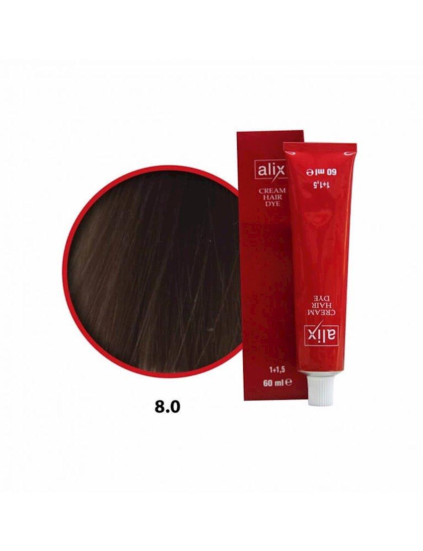 Saç boyası Alix 8.0 Tünd sarışın 60 ml