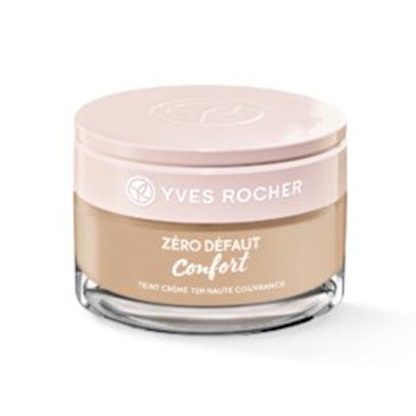 Tonal krem Yves Rocher Teint crème 12 h haute couvrance - Rosé 100