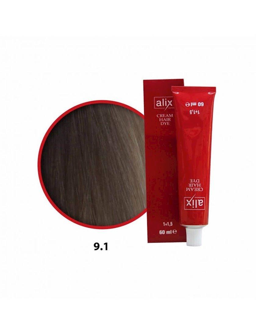Saç boyası Alix 9.1 Kül sarışın 60 ml