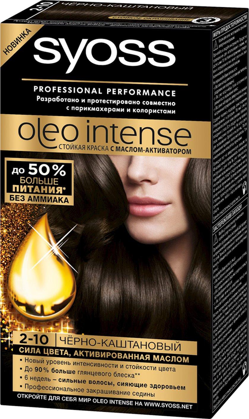 Saç boyası Syoss Oleo Intense 2-10 Qara şabalıdı 115 ml