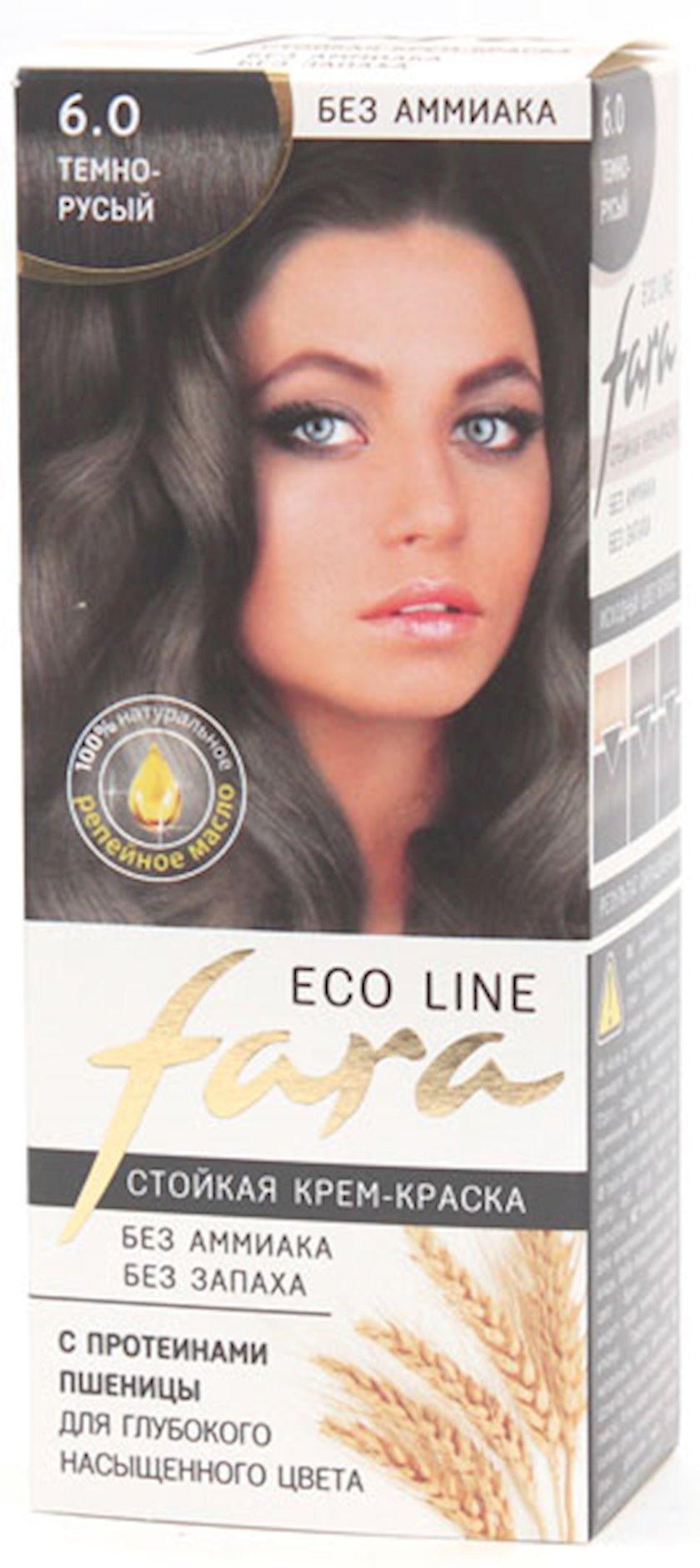 Saç boyası Fara Eco Line Tünd xurmayı 100 ml