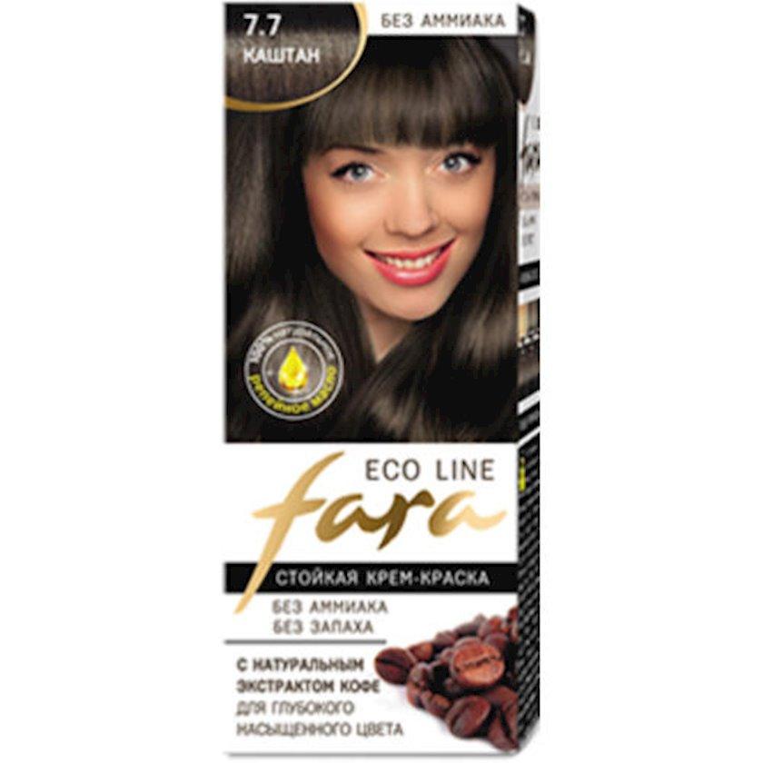 Saç boyası Fara Eco Line 7.7 Şabalıd 100 ml