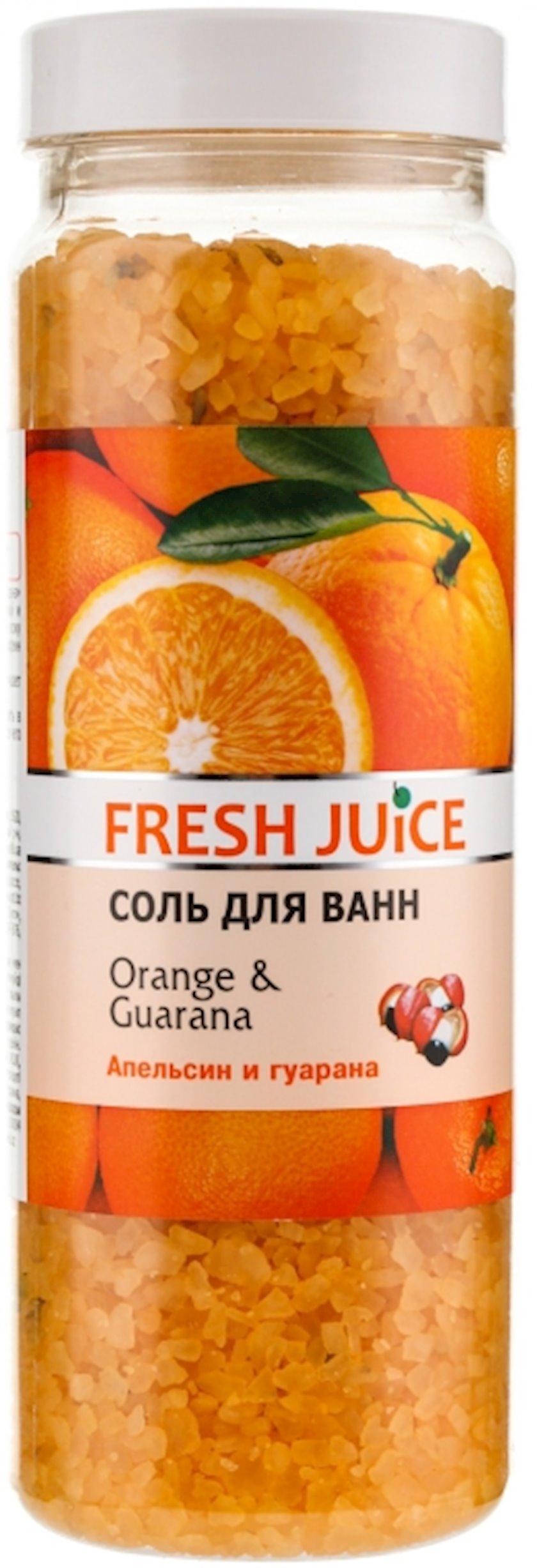 Vanna üçün duz Fresh Juice Orange & Guarana 700 qr