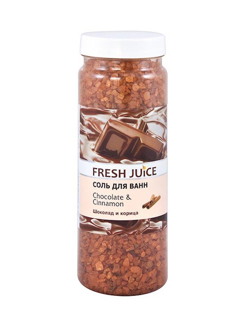 Vanna üçün duz Fresh Juice Chocolate & Cinnamon 700 qr