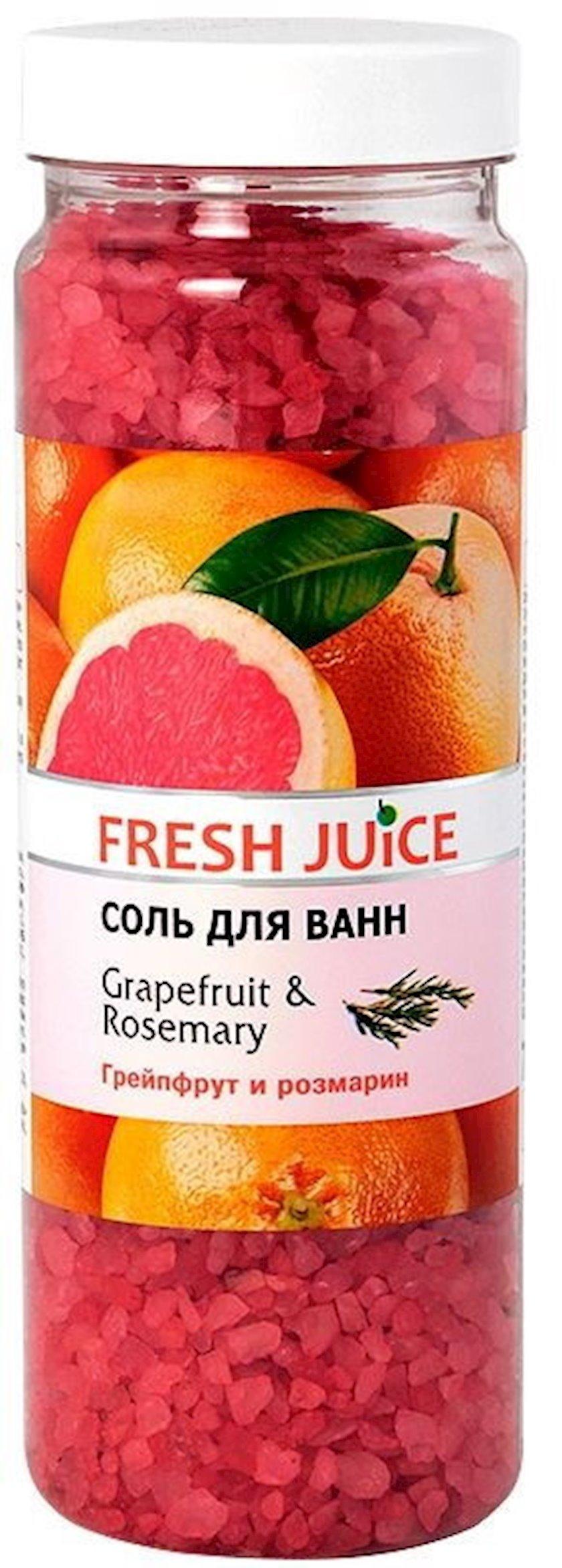 Vanna üçün duz Fresh Juice Grapefruit & Rosemary 700 qr