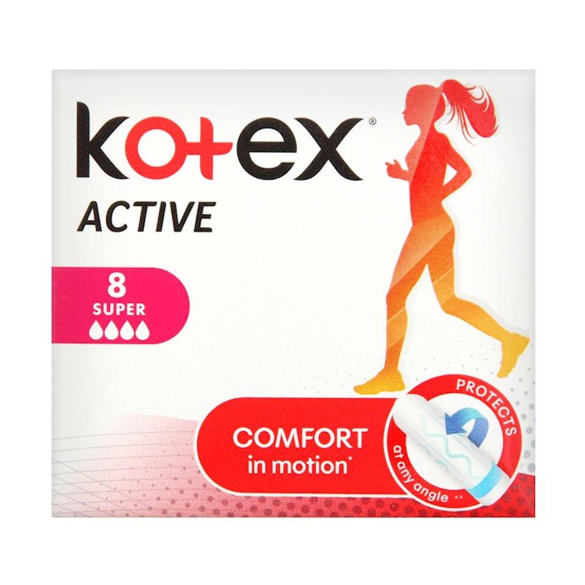 Gigiyenik tamponlar Kotex Active Super 8 ədəd