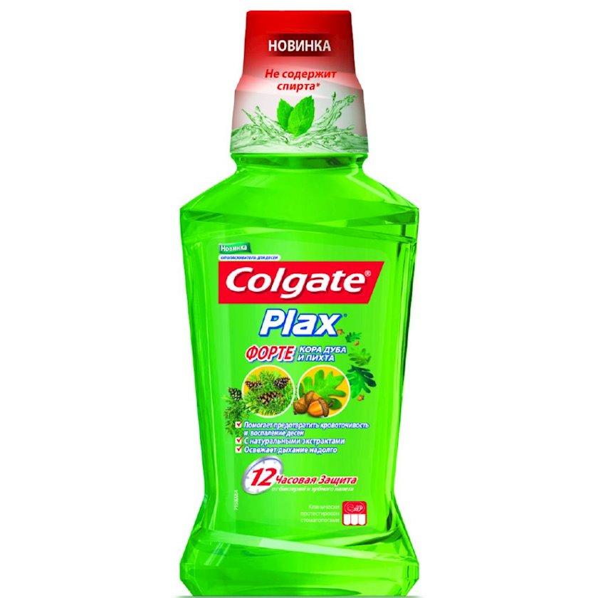 Ağız boşluğu yaxalayıcısı Colgate Plax Forte diş əti üçün palıd qabığı və küknar ilə, 250 ml