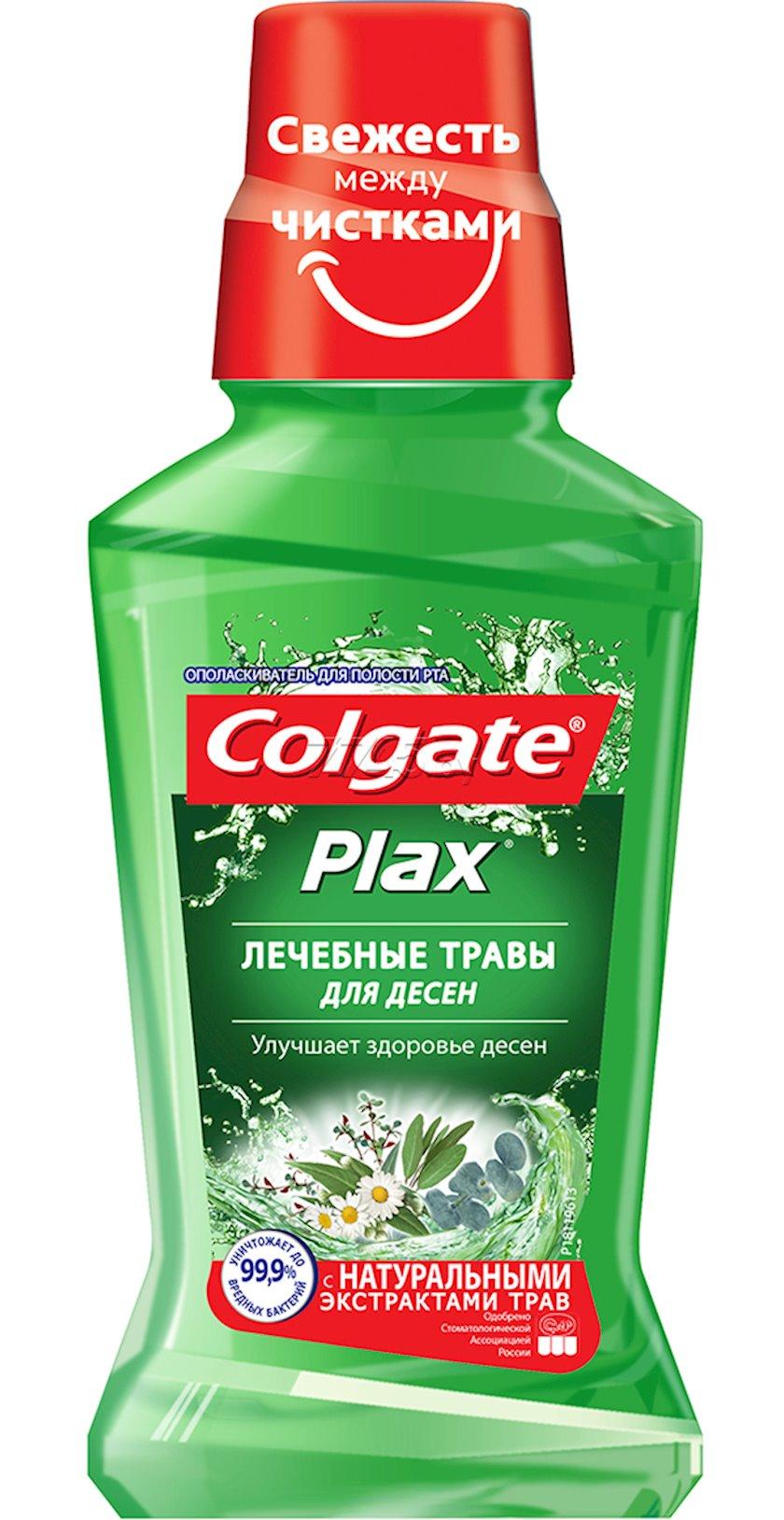 Ağız boşluğu yaxalayıcısı Colgate Plax Müalicəvi otlar, 250 ml