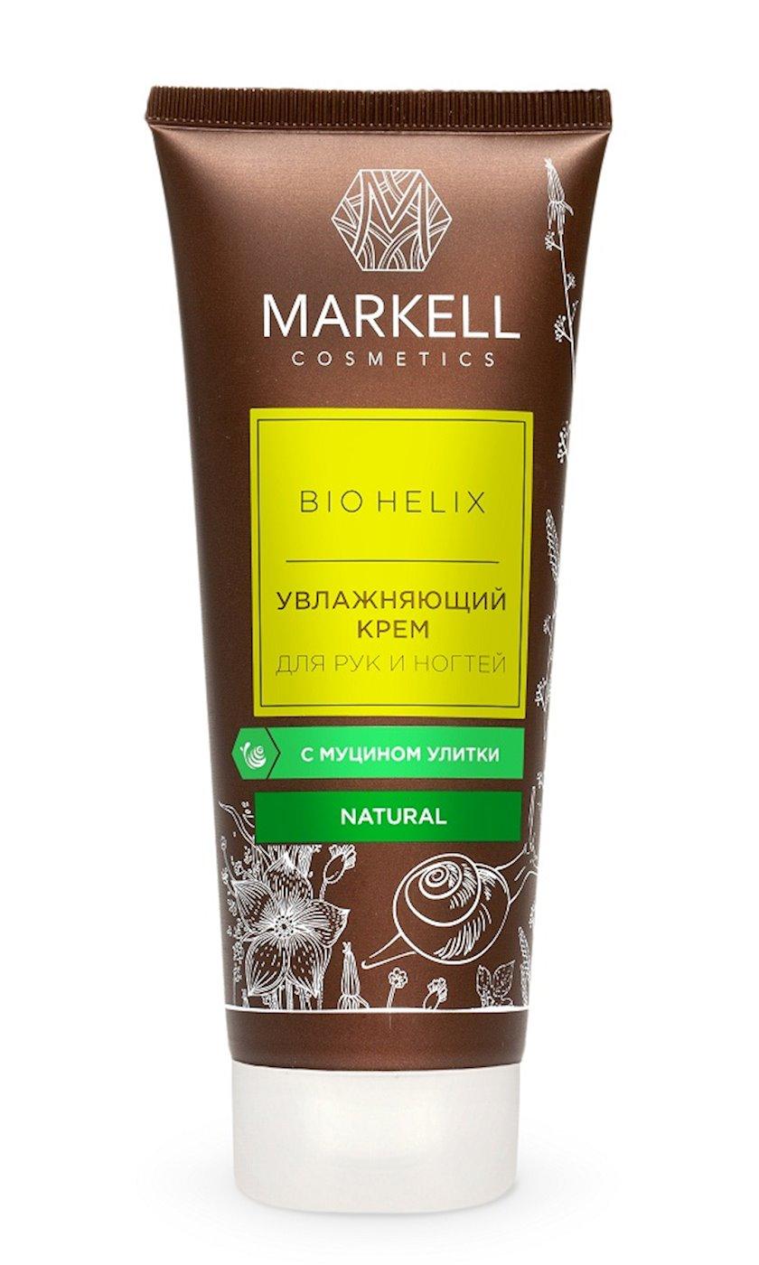 Əl üçün nəmləndirici krem Markell Bio Helix ilbiz mucini ilə 75 ml