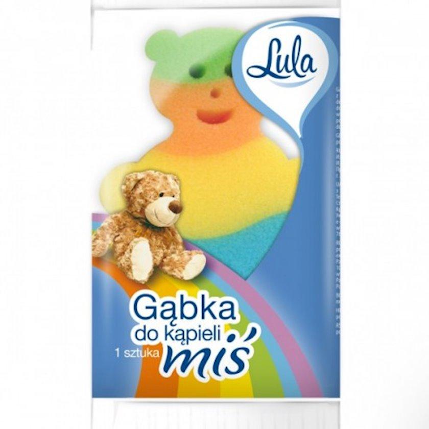 Uşaq üçün duş süngəri Lula Медвежонок