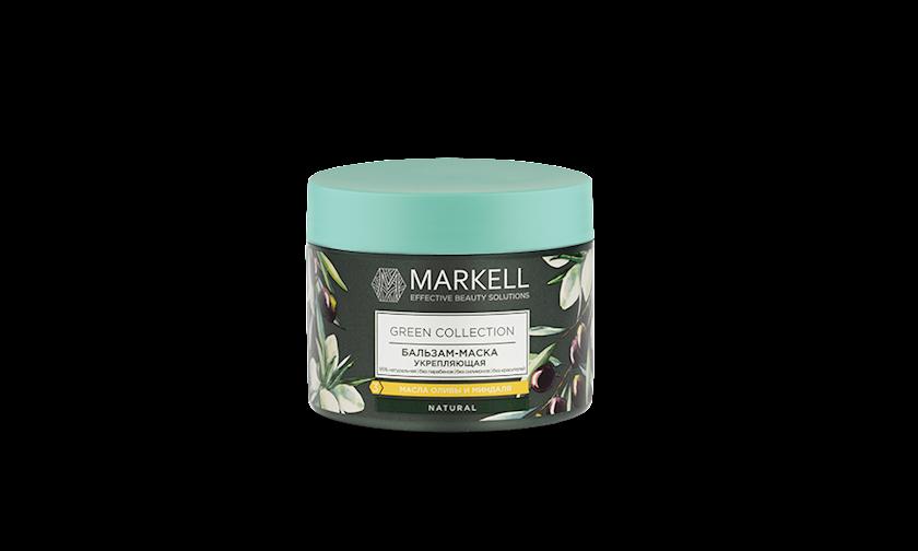 Balzam-maska saçlar üçün Markell Green Collection Möhkəmləndirici 300 ml