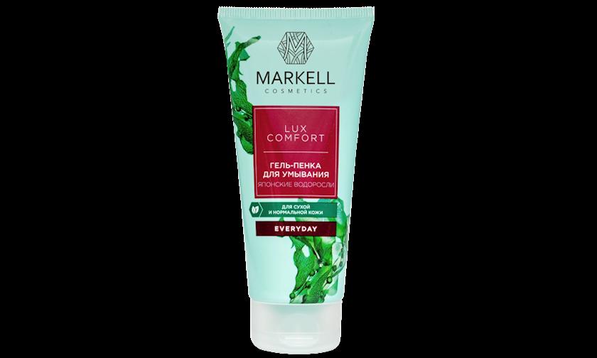 Yuyunma üçün gel-köpük Markell Everyday Lux Comfort Yapon Yosunu 100 ml
