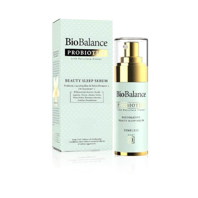 Üz üçün serum Biobalance Probiotics Restorative Beauty Sleep Detoks