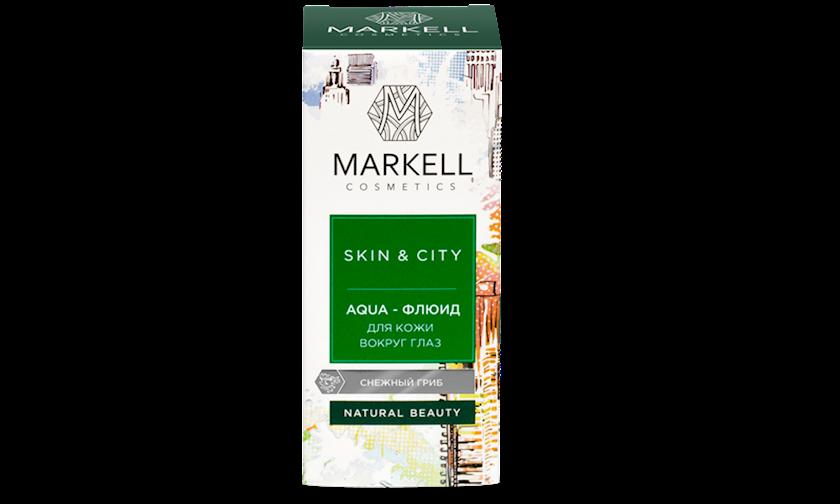 Göz qapaqları üçün fluid Markell Skin&City Qarlı Göbələk 10 ml
