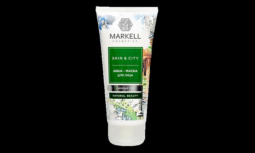 Üz üçün aqua-maska Markell Skin&City 100 ml