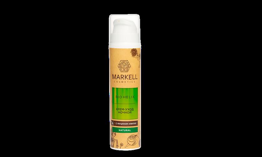 Üz üçün gecə kremi Markell Bio-Helix 50 ml