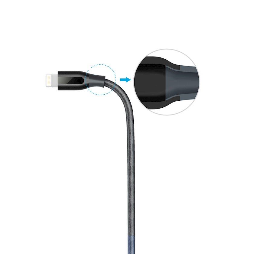 Kabel Anker PowerLine+ Lightning-USB 0.9 m V3 boz
