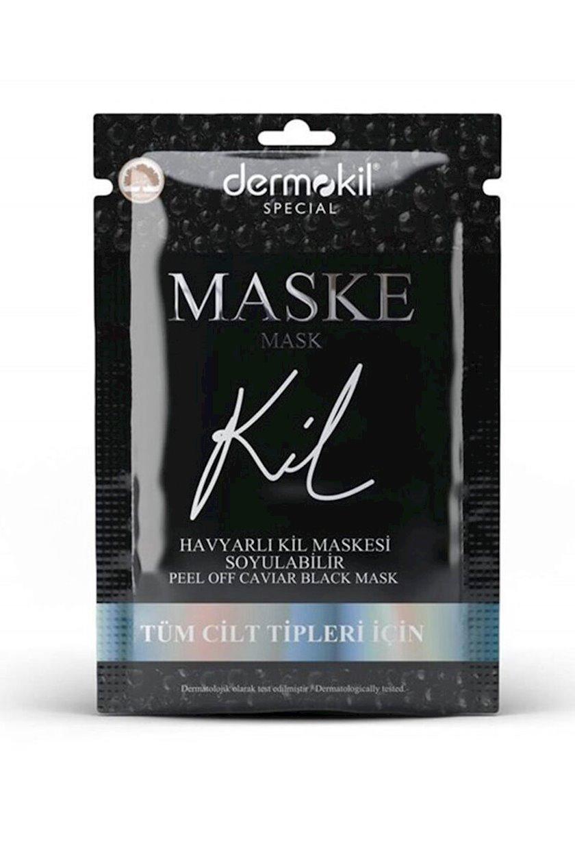 Üz üçün maska Dermokil Caviar Peelable 15 ml
