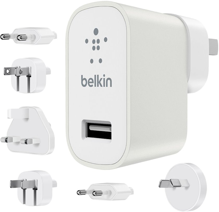 Enerji cihazı Belkin Global Travel Kit 2.4 А, ağ