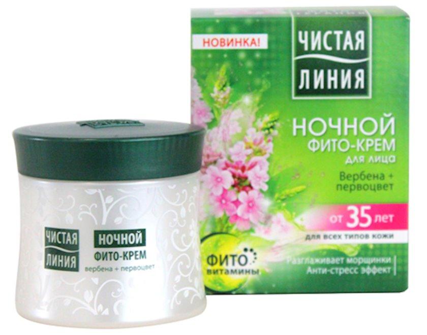 Fito-krem üz üçün Чистая Линия gecə 35 yaşdan yuxarı 45 ml
