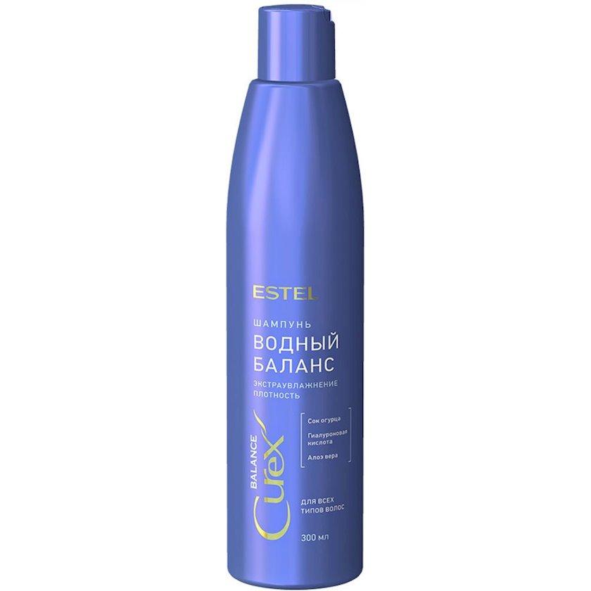 Şampun Estel Professional Curex Balance Bütün saç tipləri üçün su balansı 300 ml