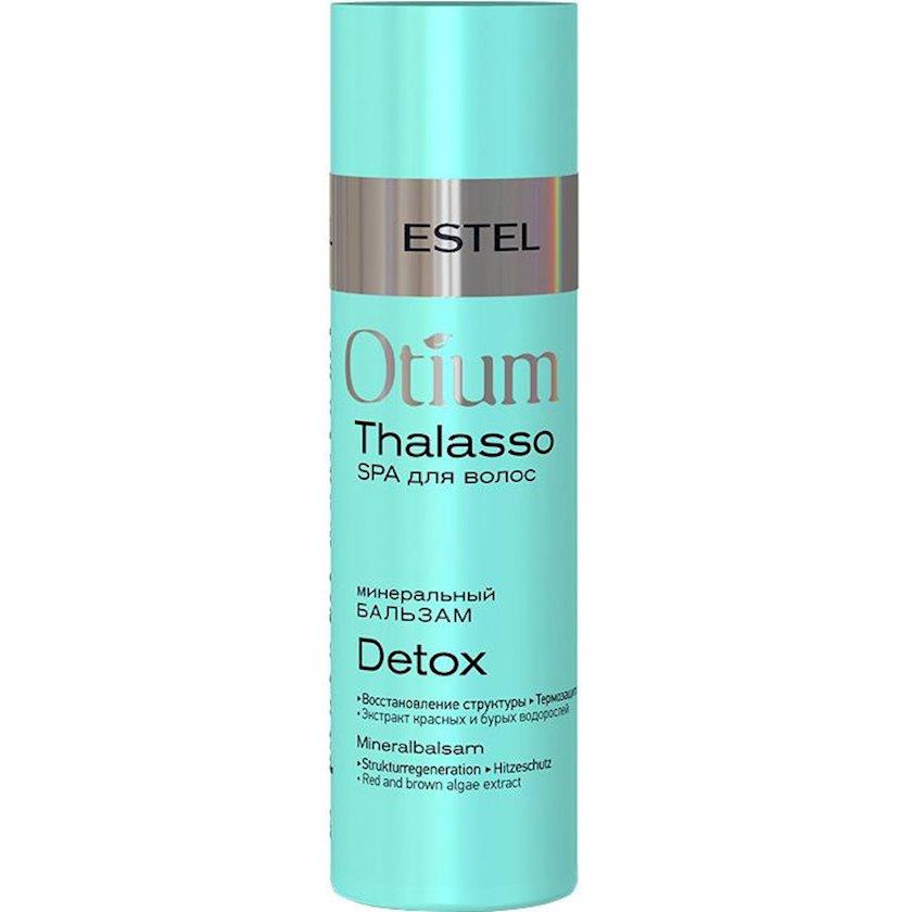 Mineral balzam Estel Professional Otium Thalasso Detox, Bütün saç növləri üçün, 200 ml