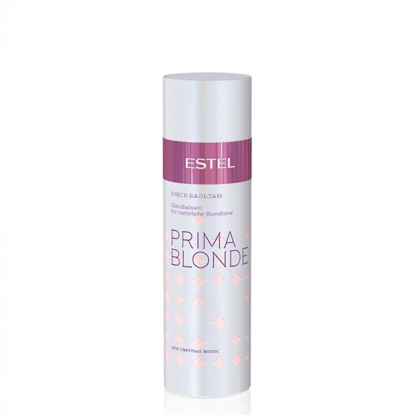 Açıq rəngli saçlar üçün parıltı-balzam Estel Professional Prima Blonde, 200 ml