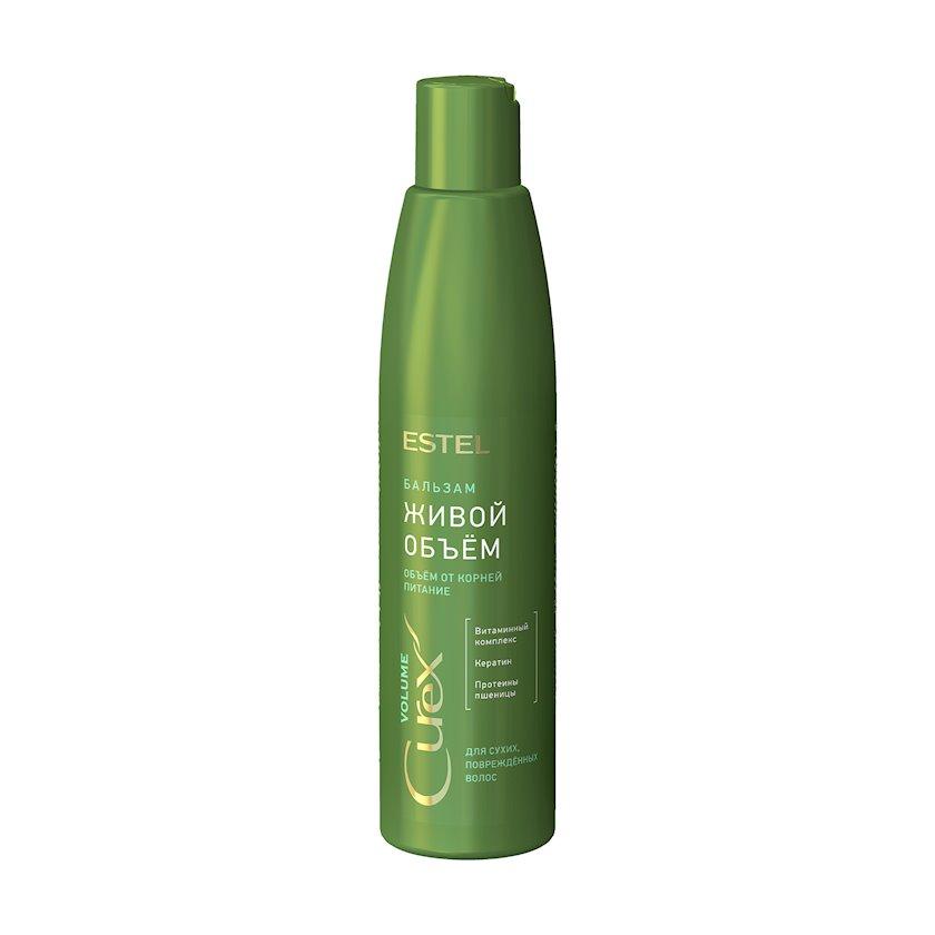 Saçların həcmi üçün şampun Estel Professional Curex Volume, quru və zədələnmiş saçlar üçün, 250 ml