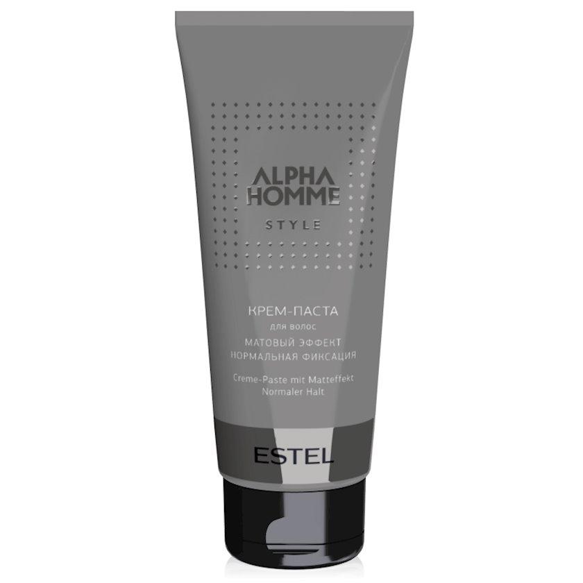 Krem-pasta Estel Professional Alpha Homme Style normal fiksasiya, mat effekti, 100 ml