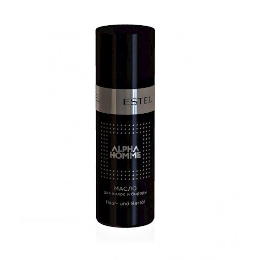 Saç və saqqal yağı Estel Professional Alpha Homme 50 ml