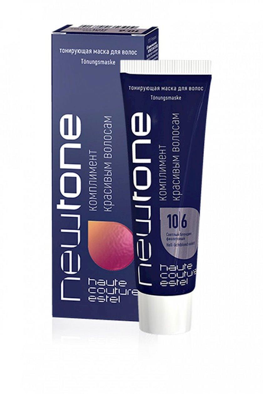 Saç tonlaşdırıcı maska Estel Professional NewTone 10/6, 60 ml