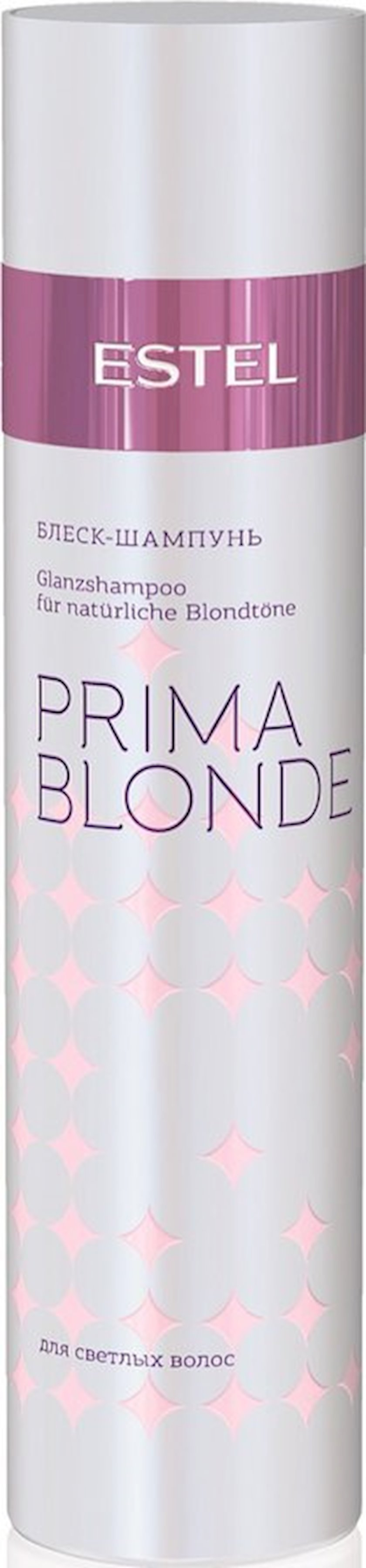 Şampun Estel Professional Parlaq-şampun açıq-rəngli saçlar üçün 250 ml