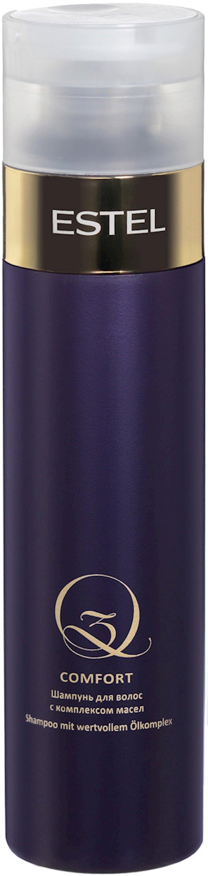 Şampun Estel Professional Q3 Comfort yağlar kompleksi ilə 250 ml