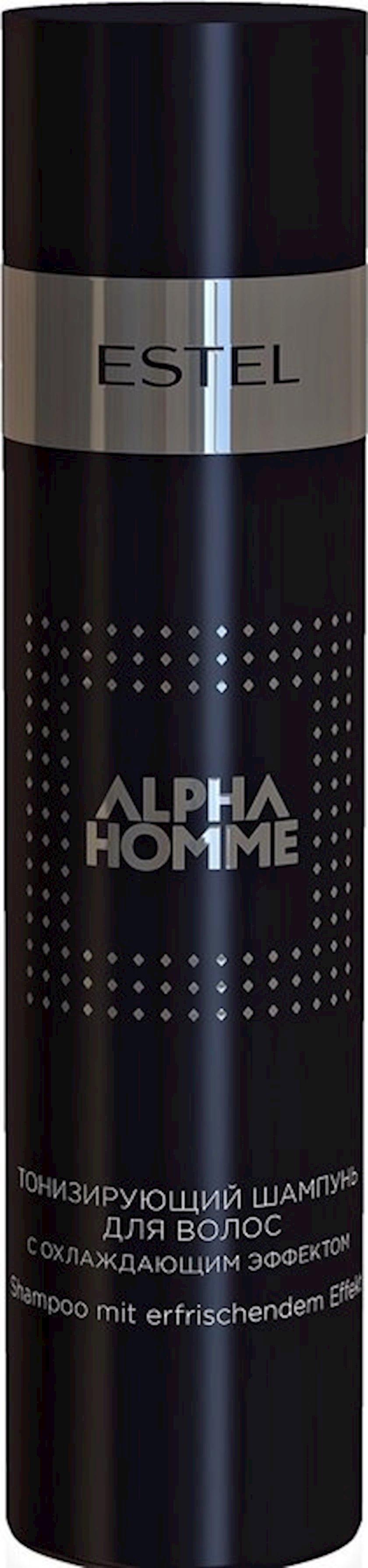 Şampun Estel Professional Alpha Homme sərinləşdirici effektli tonlaşdırıcı şampun 250 ml