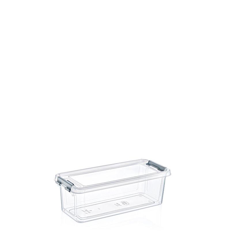 Saxlama konteyneri Hobby Life Grand Shallow, plastik, 11.3x27.3x9 sm, 1.8 l