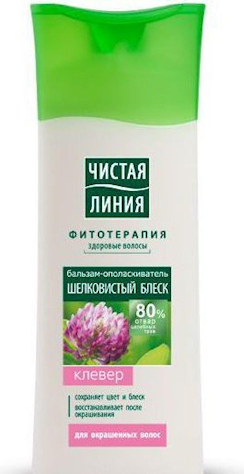 Zərdab-yaxalayıcı saçlar üçün Чистая Линия İpək parıltı