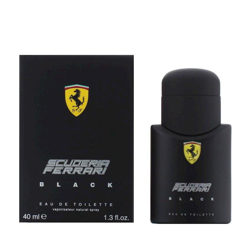 Tualet suyu kişilər üçün Ferrari Black By Scuderia, 40 ml