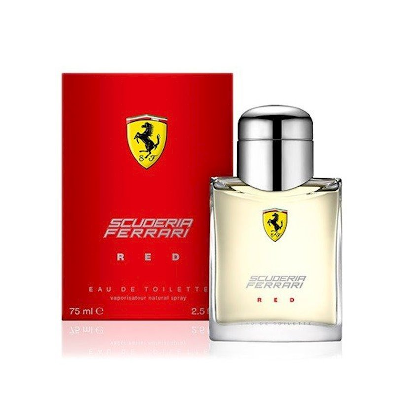 Tualet suyu kişilər üçün Ferrari Scuderia Red, 75 ml