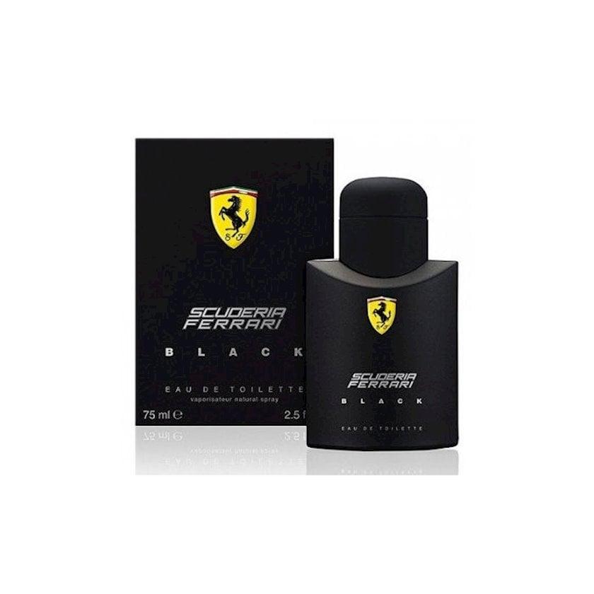 Tualet suyu kişilər üçün Ferrari Scuderia Black, 75 ml